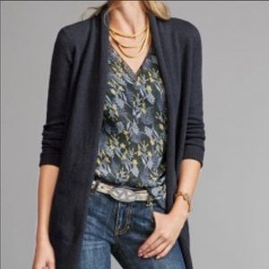 CAbi Floral Fern Sleeveless Blouse Top